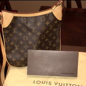 Auth LOUIS VUITTON ODEON PM crossbody bag